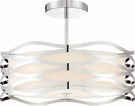 Quoizel PCMC1720C Mystic Contemporary Polished Chrome Overhead Lighting