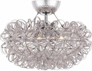 Quoizel PCPG1716C Platinum Collection Pageant Modern Polished Chrome Home Ceiling Lighting