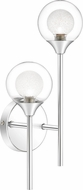 Quoizel PCSB8702C Spellbound Contemporary Polished Chrome Wall Sconce Lighting