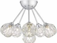 Quoizel PCSBC1716C Spellbound Contemporary Polished Chrome Flush Ceiling Light Fixture
