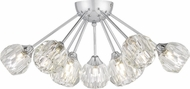Quoizel PCSBC1722C Spellbound Modern Polished Chrome Flush Mount Ceiling Light Fixture