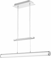 Quoizel PCSK136C Platinum Collection Skyline Contemporary Polished Chrome LED 36  Kitchen Island Light