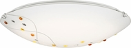 Quoizel PCSL1620CLED Stellar Contemporary Polished Chrome LED 20  Flush Ceiling Light Fixture