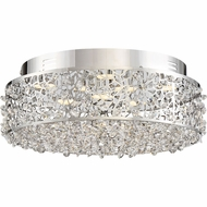 Quoizel PCST1614C Platinum Collection Starlet Polished Chrome LED Flush Mount Lighting