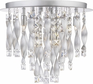 Quoizel PCTK1616C Twinkle Modern Polished Chrome Overhead Light Fixture