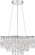 Quoizel PCTK2824C Twinkle Contemporary Polished Chrome Hanging Lamp