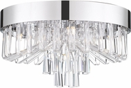 Quoizel PCVE1616C Platinum Collection Venus Modern Polished Chrome Ceiling Lighting Fixture