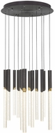 Quoizel PCWY1820WT Whitley Contemporary Western Bronze LED Multi Hanging Light