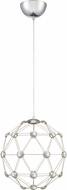 Quoizel PCZC1515C Platinum Collection Zodiac Modern Polished Chrome LED 16  Hanging Lamp