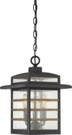 Quoizel PLA1910PN Plaza Modern Palladian Bronze Outdoor Hanging Pendant Lighting