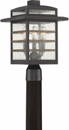 Quoizel PLA9010PN Plaza Modern Palladian Bronze Outdoor Lamp Post Light Fixture