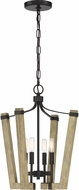 Quoizel PLN5204WT Plains Contemporary Western Bronze 16.5  Foyer Lighting