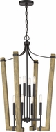 Quoizel PLN5208WT Plains Modern Western Bronze 22  Foyer Light Fixture