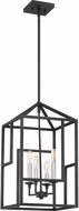 Quoizel PON5204GK Portion Modern Grey Ash 12  Foyer Lighting Fixture
