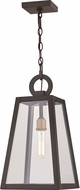 Quoizel PPT1910OZ Poplar Point Contemporary Old Bronze Outdoor Hanging Pendant Light