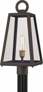 Quoizel PPT9010OZ Poplar Point Modern Old Bronze Outdoor Lamp Post Light Fixture