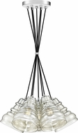 Quoizel PPY2607C Prophecy Contemporary Polished Chrome Multi Pendant Lighting Fixture