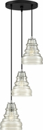 Quoizel PPY2703EK Prophecy Contemporary Earth Black Multi Drop Lighting