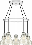 Quoizel PPY5005C Prophecy Contemporary Polished Chrome Multi Drop Ceiling Lighting