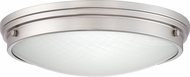 Quoizel PRT1616BN Port Contemporary Brushed Nickel LED 16  Overhead Light Fixture
