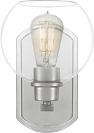 Quoizel PRUC8607BN Pruitt Contemporary Brushed Nickel Wall Mounted Lamp