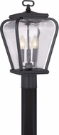 Quoizel PRV9009K Province Traditional Mystic Black Outdoor Post Light Fixture
