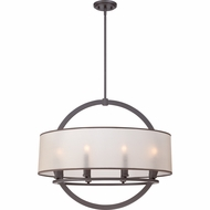 Quoizel PTD2826WT Portland Western Bronze Finish 24  Tall Drop Lighting Fixture