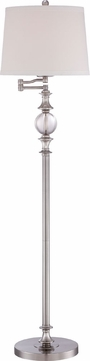 Quoizel Q1633FBN Brushed Nickel Floor Lamp Lighting