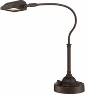 Quoizel Q1918TPN Quoizel Portable Lamp Palladian Bronze LED Reading Light