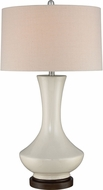 Quoizel Q2609T Ivory Lighting Table Lamp