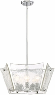 Quoizel QF2783C Contemporary Polished Chrome Hanging Light Fixture