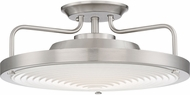 Quoizel QF3178SBN Quoizel Fixture Contemporary Brushed Nickel LED Ceiling Lighting