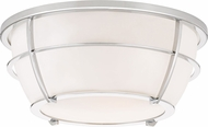 Quoizel QF3412C Contemporary Polished Chrome Overhead Light Fixture