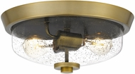 Quoizel QF3414AB Radius Contemporary Aged Brass 13  Home Ceiling Lighting