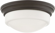 Quoizel QF3416OZ Contemporary Old Bronze LED Flush Mount Light Fixture