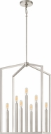 Quoizel QF4022BN Foundation Modern Brushed Nickel 16  Foyer Light Fixture