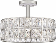 Quoizel QF4046PK Coffman Polished Nickel Overhead Lighting Fixture