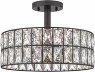 Quoizel QF4046WT Coffman Western Bronze Ceiling Lighting