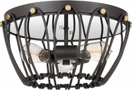 Quoizel QF4061WT Springer Modern Western Bronze Ceiling Lighting Fixture