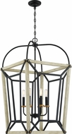 Quoizel QF5122EK Ashcroft Earth Black Entryway Light Fixture