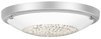 Quoizel QF5131C Cohen Contemporary Polished Chrome LED Overhead Light Fixture