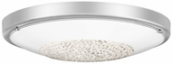 Quoizel QF5132C Cohen Modern Polished Chrome LED Overhead Lighting Fixture