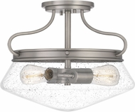 Quoizel QF5222AN Tucker Antique Nickel Ceiling Light