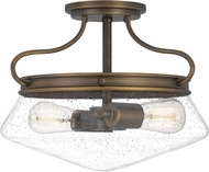 Quoizel QF5222FR Tucker French Bronze Ceiling Light Fixture