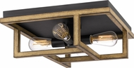Quoizel QF5230AWN Spencer Aged Walnut Overhead Lighting