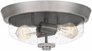 Quoizel QF5283BN Radius Modern Brushed Nickel 13  Overhead Lighting Fixture