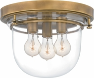 Quoizel QFL5287WS Contemporary Weathered Brass Home Ceiling Lighting