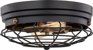Quoizel QFL5289MBK Contemporary Matte Black Overhead Light Fixture