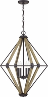 Quoizel QOP5265WT Western Bronze Foyer Lighting Fixture