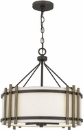 Quoizel QOP5270IN Iron Gate Drum Hanging Light Fixture